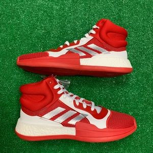 Adidas Marquee Boost NBA Red White Basketball